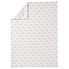 Rosy Cloud Flannel Toddler Duvet Cover