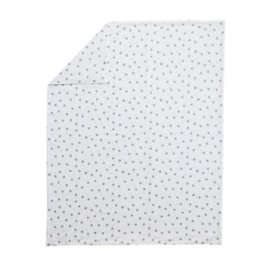 Silver Dot Toddler Duvet Cover