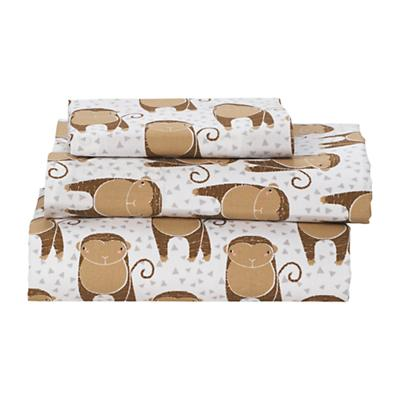 Savanna Toddler Sheet Set (Monkey)