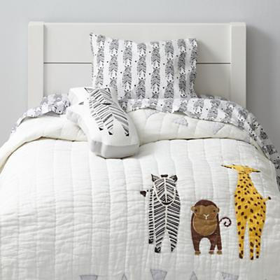 Savanna Toddler Bedding (Zebra)