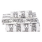 Savanna Zebra Toddler Sheet SetIncludes fitted sheet, flat sheet and one toddler pillowcase