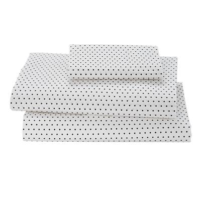 Swiss Dot Toddler Sheet Set