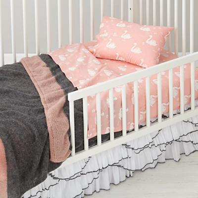 Swan Soiree Toddler Bedding