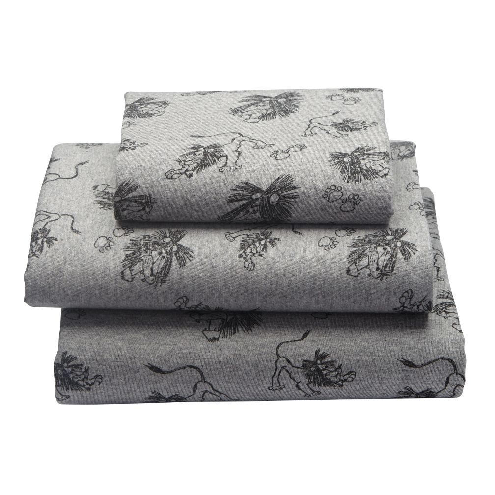 Tawny Scrawny Lion Toddler Sheet Set