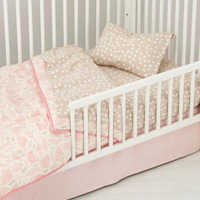 Well Nested Organic Toddler Bedding (Pink)