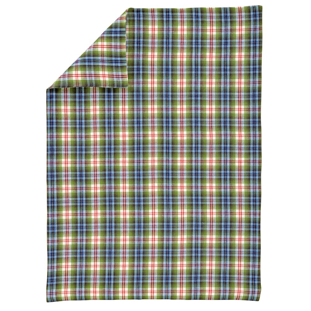 Winter Lodge Flannel Toddler Duvet Cover