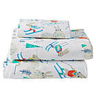 Bunny Hill Flannel Twin Sheet Set