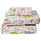 Candy Forest Flannel Twin Sheet Set