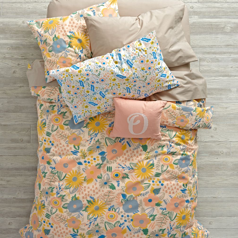 Floral Rush Bedding and Duvet Cover