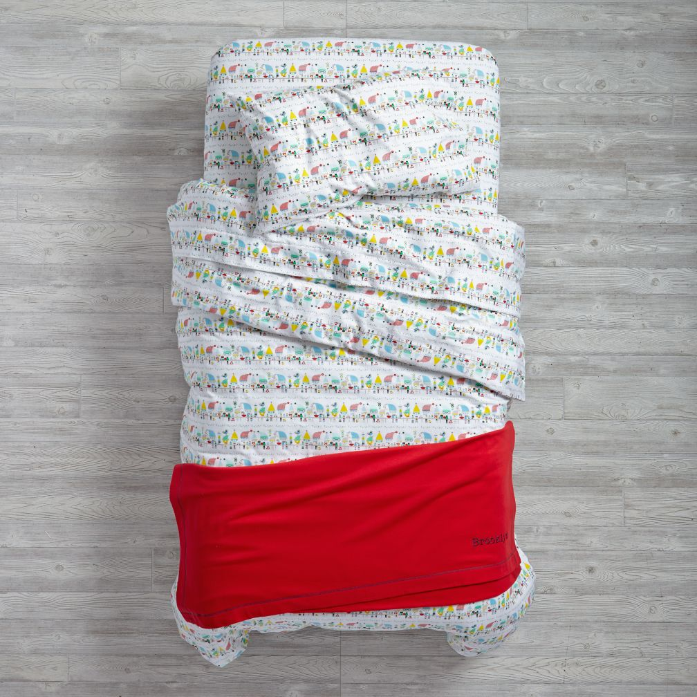 Elf Help Flannel Bedding
