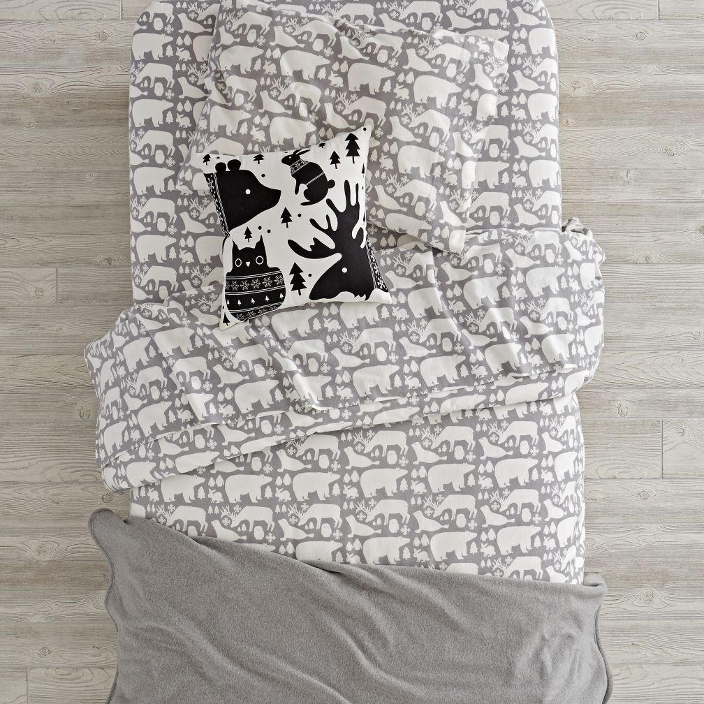 Great White North Flannel Bedding and Duvet Cover