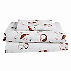 Twin Poky Little Puppy Sheet SetIncludes fitted sheet, flat sheet and one pillowcase