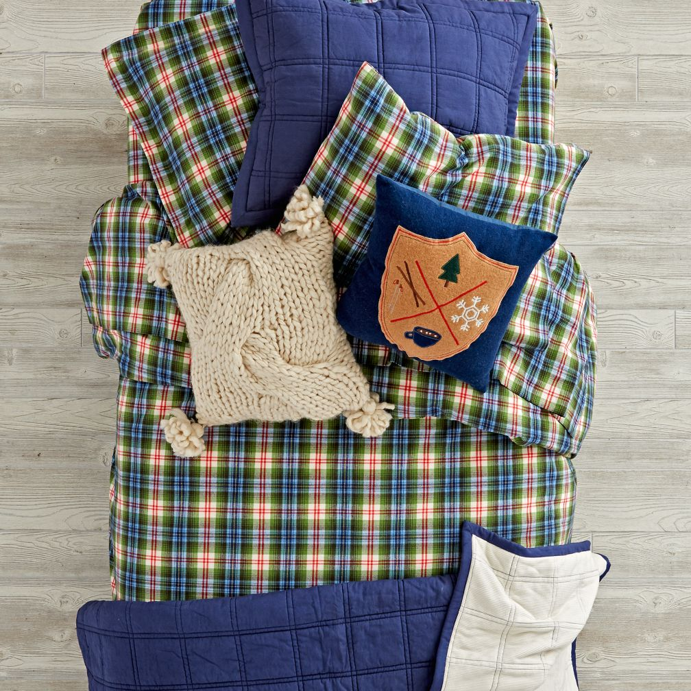 Winter Lodge Bedding Quilt and Duvet Cover