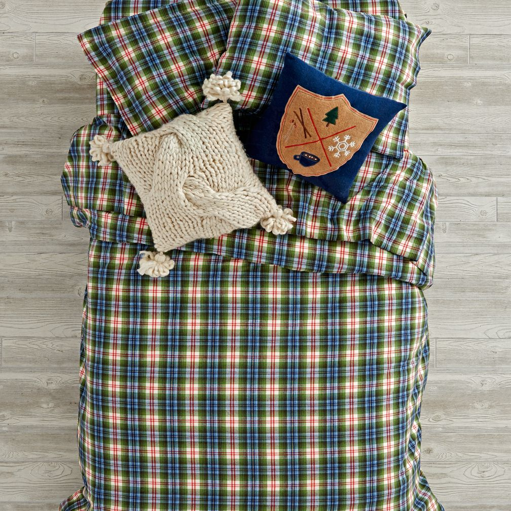 Winter Lodge Flannel Duvet Cover