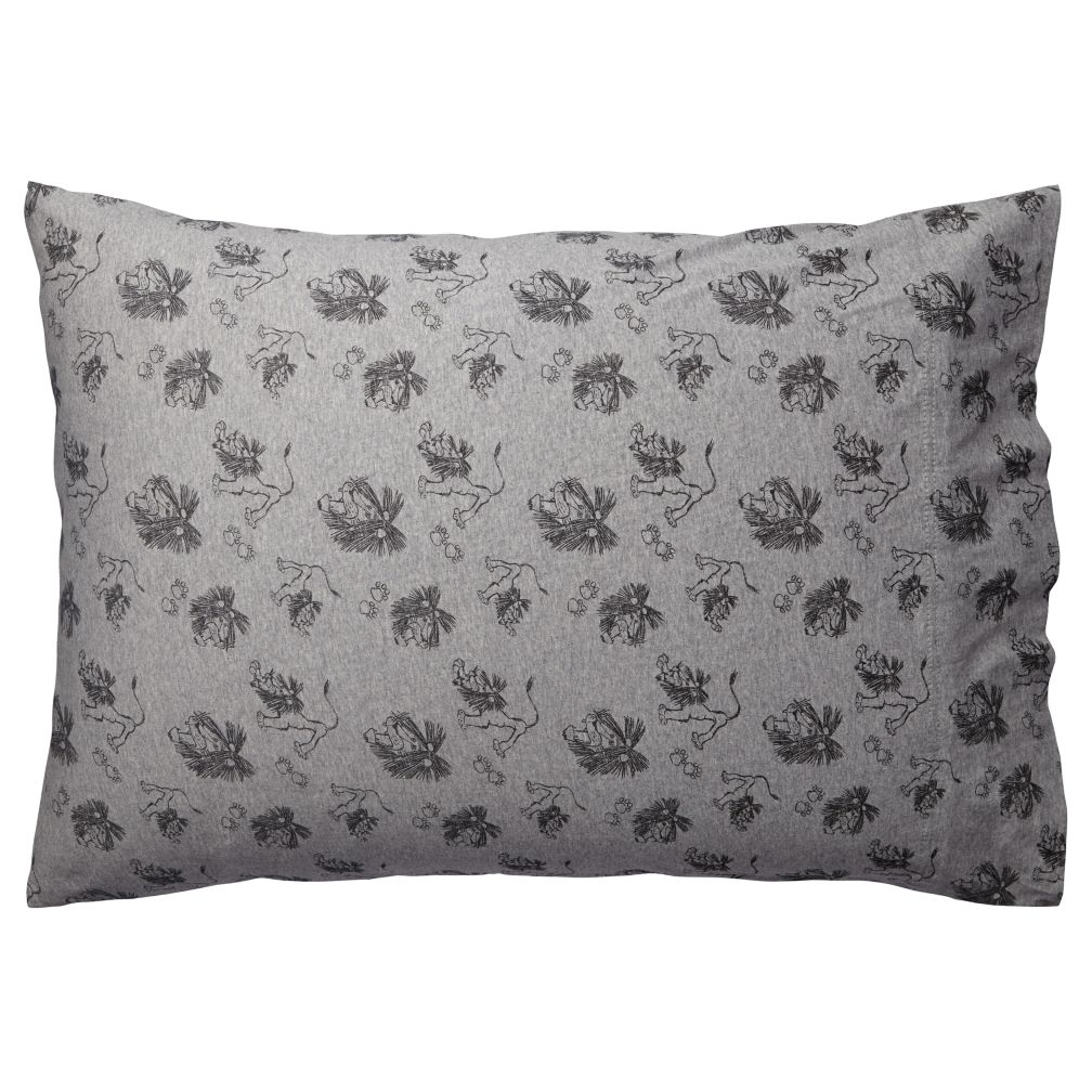 Tawny Scrawny Lion Pillowcase