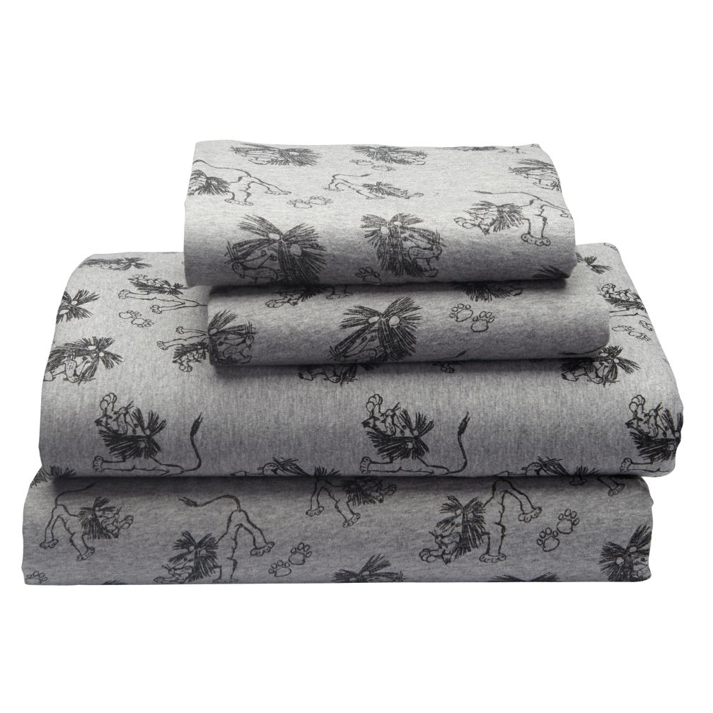 Full Tawny Scrawny Lion Sheet Set