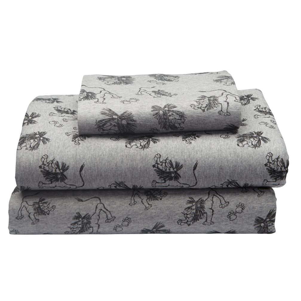 Twin Tawny Scrawny Lion Sheet Set