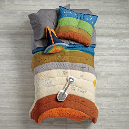 To the Center of the Kids Bedding - Twin To the Center of the Bedding Quilt