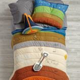 To the Center of the Bedding Quilt