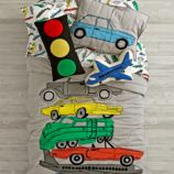 Traffic Jam Bedding and Quilt
