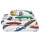 Full Traffic Jam Sheet SetIncludes fitted sheet, flat sheet and two pillowcases