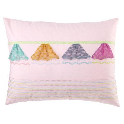 Ballet Dancer Pillow Shams