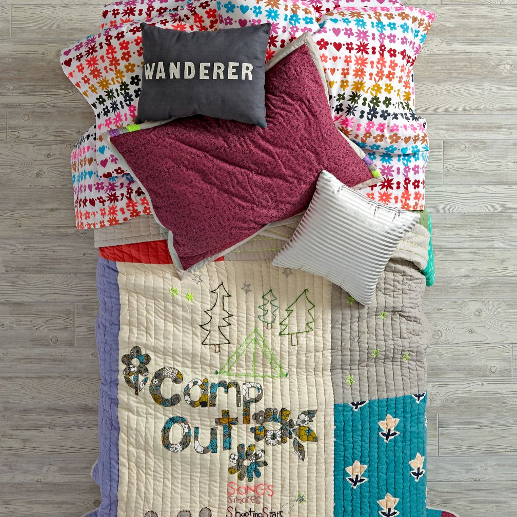Vintage Camp Bedding and Quilt