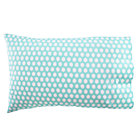 Blue Organic Egg Print Pillowcase