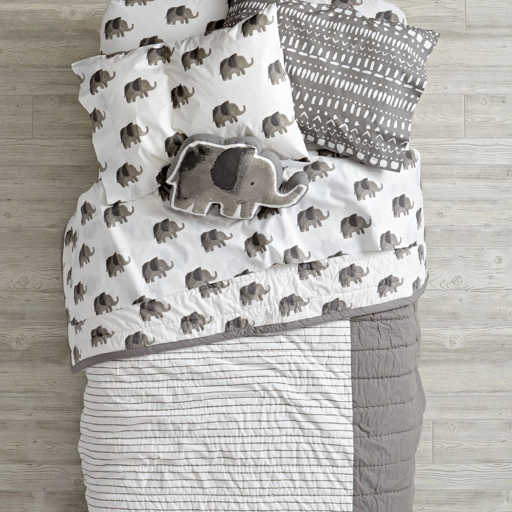 Wild Excursion Elephant Bedding and Quilt