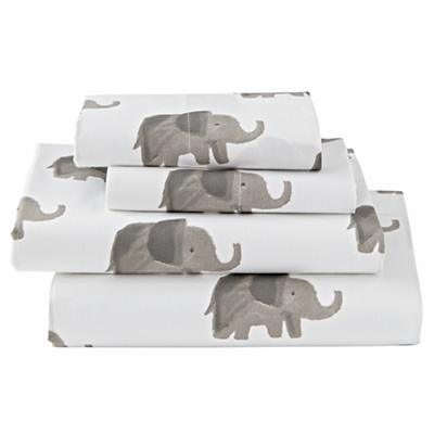 Full Wild Excursion Elephant Sheet Set