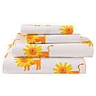 Full Wild Excursion Lion Sheet SetIncludes fitted sheet, flat sheet and two pillowcases
