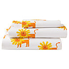 Twin Wild Excursion Lion Sheet SetIncludes fitted sheet, flat sheet and one pillowcase