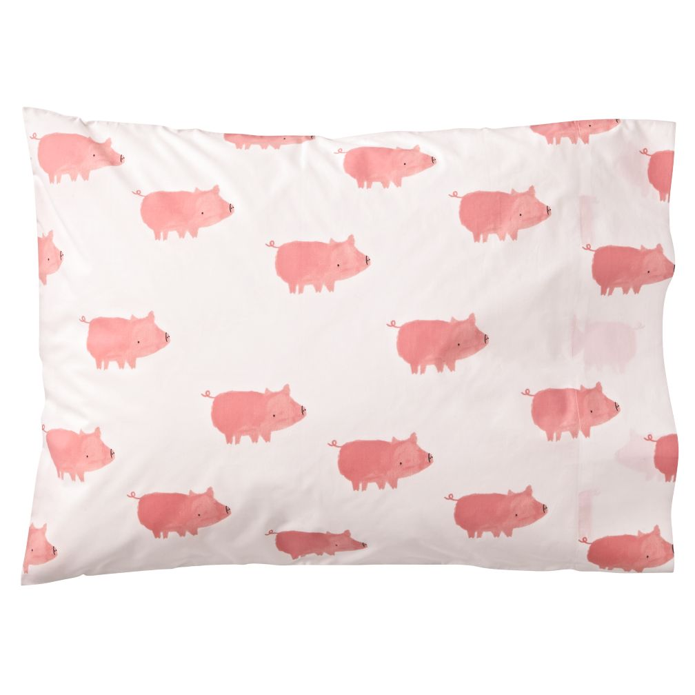 Organic Wild Excursion Pig Pillowcase