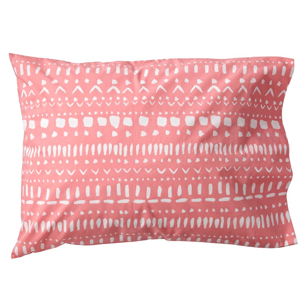 Tribal Excursion Pink Pillowcase