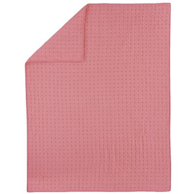 Twin Pink Voile Quilt