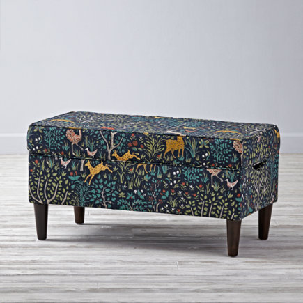 Folkland Admiral  Upholstered Storage Bench