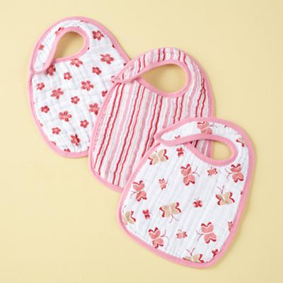 Pink Lookin' Snappy Bibs (Set of 3)