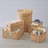 Wonderful Wicker Natural Nursery Collection