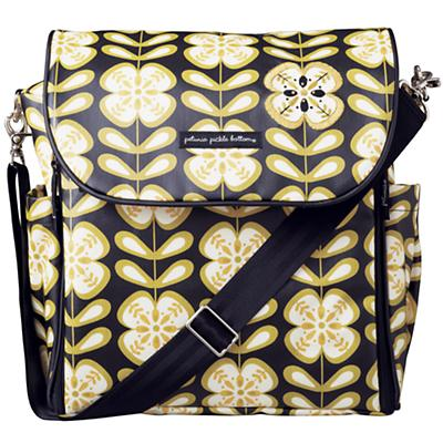 Black/Yellow Dapper Diaper Bag