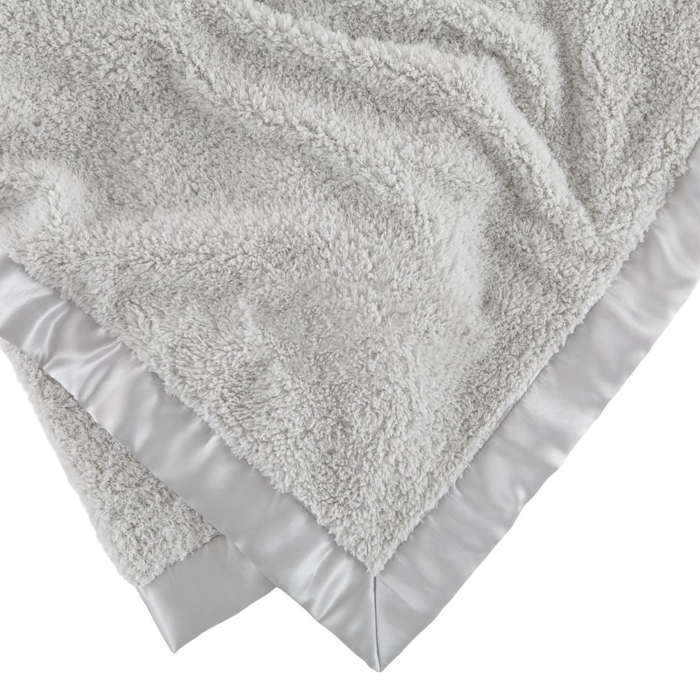 Personalized Cuddle Me Softly Baby Blanket (Grey)