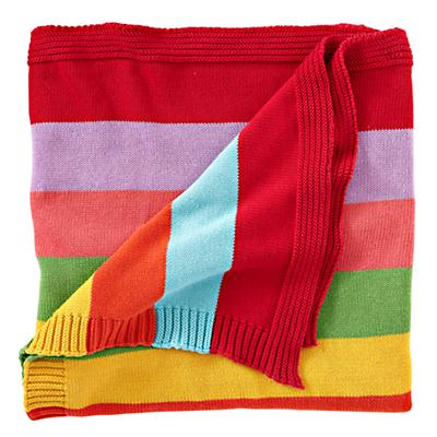 Rainbow Throw Blanket