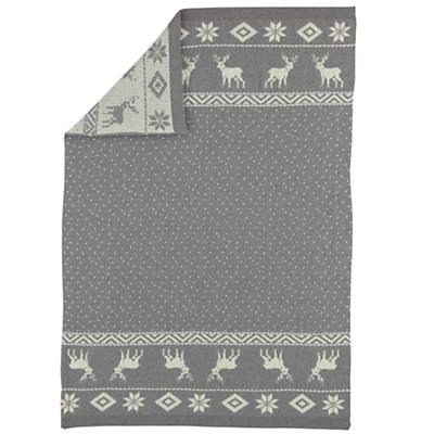 Moose Throw Blanket