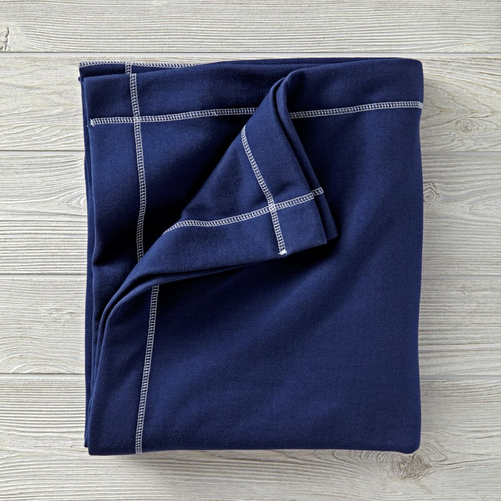 Standard Issue Navy Sweatshirt Blanket