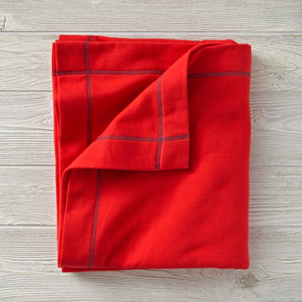 Standard Issue Sweatshirt Blankets (Red) - Personalized Standard Issue Red Sweatshirt Blanket