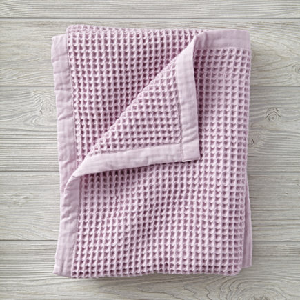 Personalized Snuggle Up Lavender Baby Blanket