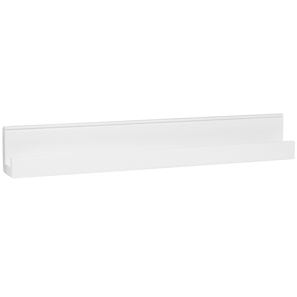 Straight & Narrow Book Ledge (White)
