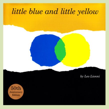Kids Books: Little Blue And Little Yellow By Leo Lionni - Little Blue And Little Yellow Board Book