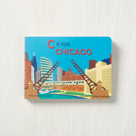 C is For Chicago Childrens Book - C is for Chicago Board Book