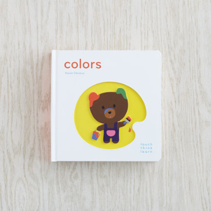 Childrens Book Colors - Colors TouchThinkLearn Book