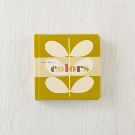 Kids Books: Colors by Orla Kiely - Colors Board Book